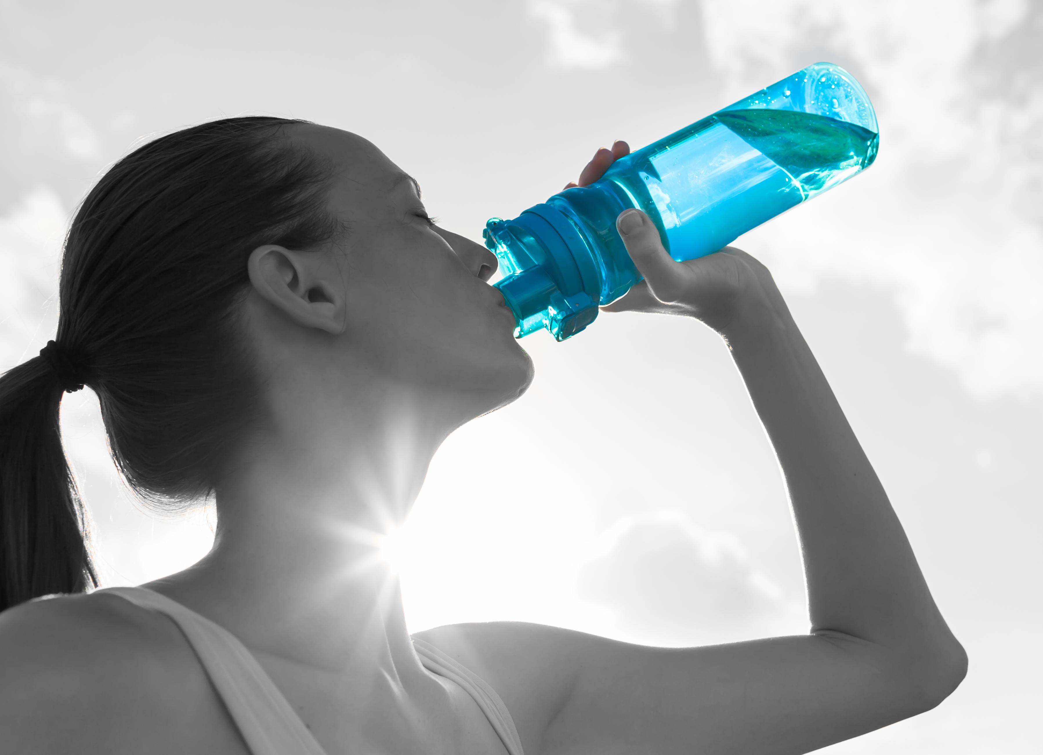 脱水症状防止の補水